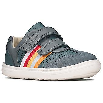 Clarks Flash Beau T Pojat Ensimmäiset kengät