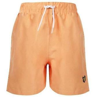 Short orange corail Lyle & scott boys