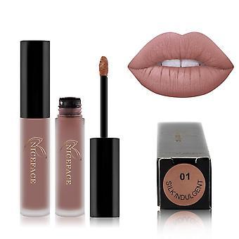 flytende leppestift, matt, vanntett, varig fuktighetsgivende lipgloss kosmetikk