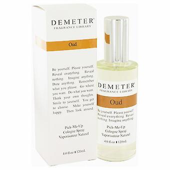 Demeter Oud Cologne Spray door Demeter 4 oz Cologne Spray