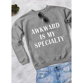 Awkward Women Sweat Shirt