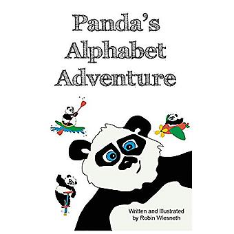 Panda's Alphabet Adventure by Robin Wiesneth - 9780991273447 Book