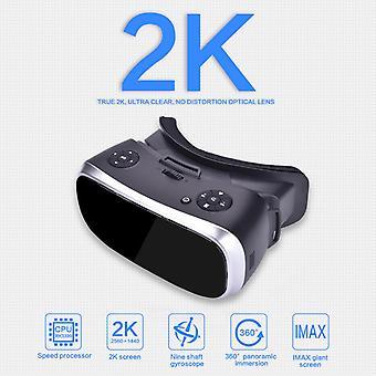3D-lasit virtuaalitodellisuuslasit ps 4 xbox 360 xbox one 2560 * 1440 p -näytölle hdmi-yhteensopiva android 5.1 kaikki yhdessä vr: ssä