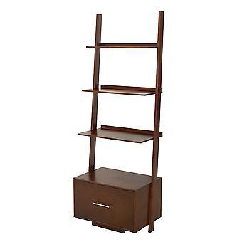 Libreria American Heritage Ladder con cassetto file - R6-250