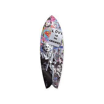 El amor es la respuesta tabla de surf