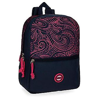 Movom Paisley Multicolored Casual Backpack 25x32x12 cms Polyester