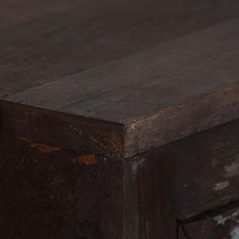 vidaXL Dressoir Afval Hout Massief 160x40x80 cm