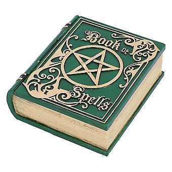 Scatola di archiviazione verde book of Spells