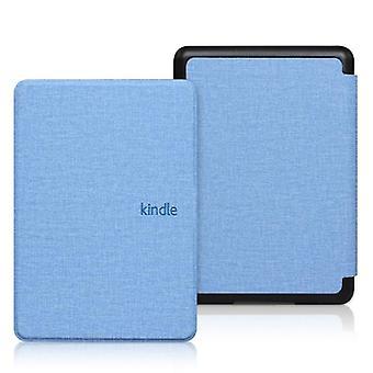 Kindle paperwhite 4 kotelo kangas rakenne Pu nahka Smart Case Pc takaisin kova kansi