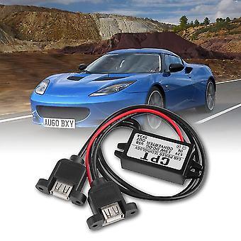 Dc Dc Converter Modul 12v bis 5v 3a 15w Duble USB Ausgang Netzteil