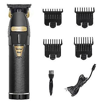 Professional Electric Cordless Hair Clippers Mens Trimmers Cutting Beard Shaver(Black)