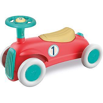 17308 Mein erstes Rutschfahrzeug, Play for Future (aus 100% recyceltem Kunststoff), Retro Lern-Auto