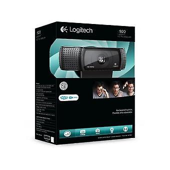 Webcam Usb Hd Pro 1080p avec espace de stockage 2 Gb (noir)