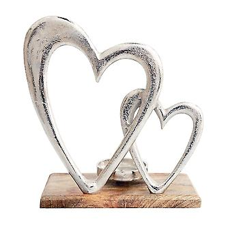 Something Different Hearts Candle Holder