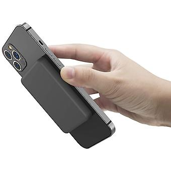 OISLE Магнитный беспроводной банк питания 4225 мАч Внешний аккумулятор Портативный зарядное устройство, совместимое для iPhone 12 /12mini / 12pro / 12pro макс, (черный)