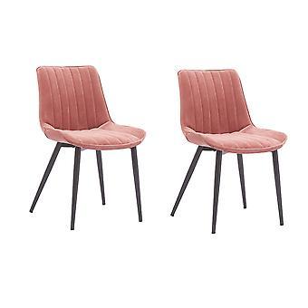 2 stuks lounge stoel sofa fauteuil elegant fluweel mid-back ondersteuning moderne woonkamer vrije tijd stoelen getuft fluwelen stoel