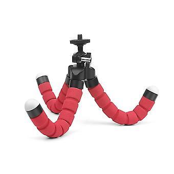 Mini set di treppiede flessibile in spugna octopus