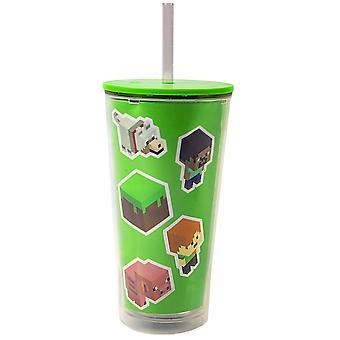 Minecraft Niños / Copa de viaje personalizada para niños