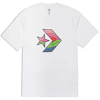 Converse Star Chevron Sunset 10021515A01 universel toute l'année t-shirt homme