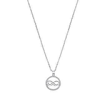 s.Oliver Jewel Damen Kette Halskette Silber Zirkonia Infinity 2032567