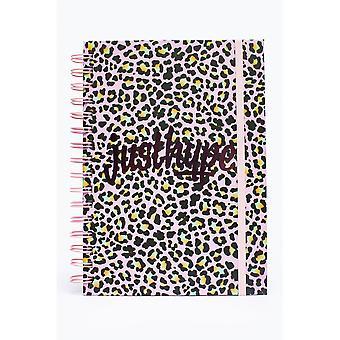 Hype Disco Leopard A5 Wirebound Notebook