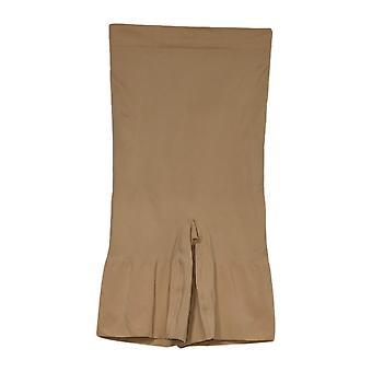 Rhonda Shear Shaper Firm Suporte Longline Short Bege Shapewear 649795
