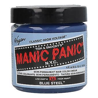 Permanent färgämne Klassisk Manic Panic Blue Steel (118 ml)