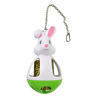 Kaytee Play-N-Hay Hay & Treat Dispenser Rabbit Toy - 1 Count
