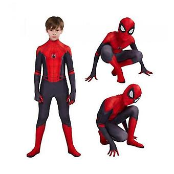 Kids Spiderman Cosplay Suit Far From Home Spiderman Costume Halloween Cosplay Costume