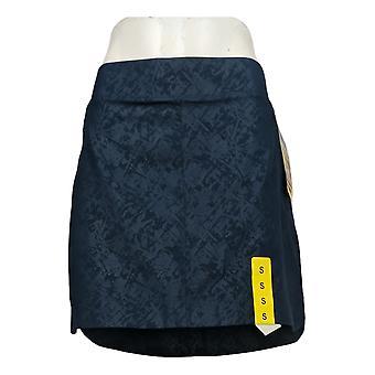 Orvis Skirt Small Travel Skort with Zip Pockets Blue