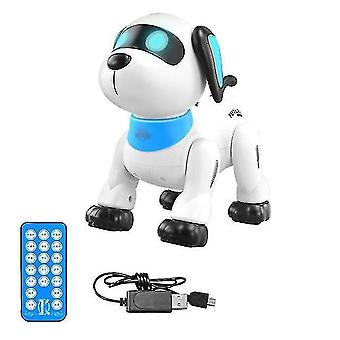 Robotic toys intelligent programming demo rc robot dog simulation stunt action sing dance voic induction electric