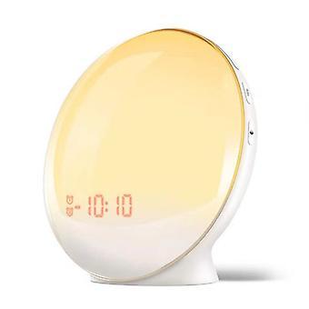Wake Up Light Sunrise Alarm Clock For Kids Bedroom, With Sunrise