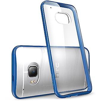 HTC One M9 Case, i-Blason,Halo Series Scratch Resistant-Clear/Blue