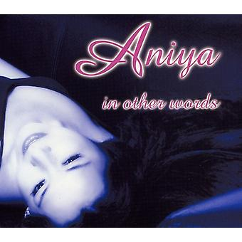 Aniya - In Other Words [CD] USA import