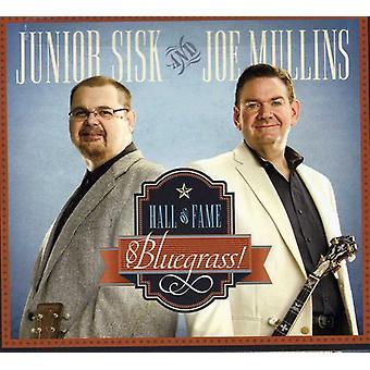 Mullins, Joe & Sisk, Junior - Hall of Fame Bluegrass [CD] USA import