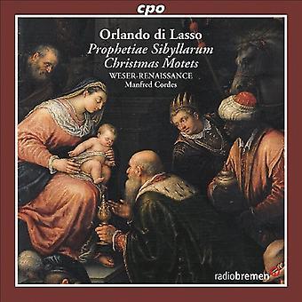 O. Di Lasso - Orlando Di Lasso: Christmas Motets [CD] USA import