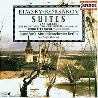 N. Rimsky-Korsakov - Rimsky-Korsakov: Suites [CD] USA import
