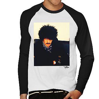 Thin Lizzy Phil Lynott Herren Baseball T-Shirt Langarm
