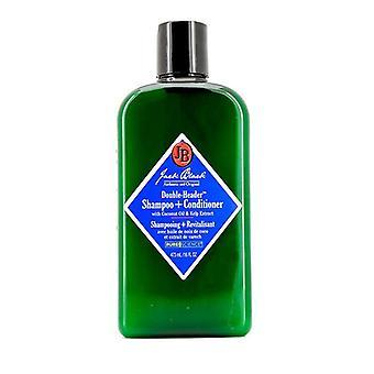 Jack Black Double-header Shampoo + Conditioner - 473ml/16oz