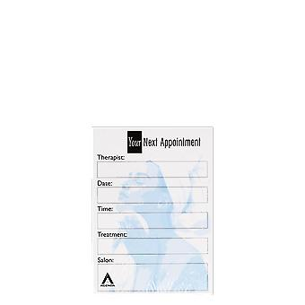 Agenda Salon Concepts Nail Appointment Cards AP7B x100