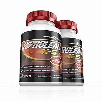Hiprolean X-S koffeinfreie Fat Burner - 2 Monat liefern - Koffein-freie Fat Burner - Evolution abnehmen