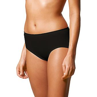 Mey 29225-3 Women's Noblesse Black Solid Colour Knickers Panty Brief