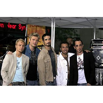 Brian Littrell Nick Carter Kevin Richardson Howie Dorough Aj Mclean On Stage For Nbc Today Show Concert Series With The Backstreet Boys Rockefeller Center New York Ny June 10 2005 Photo By Fernando Le