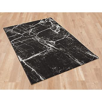 Marbre 37201 792 Rectangle gris foncé tapis tapis modernes
