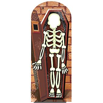 Skeleton Stand In lifesize Cutout