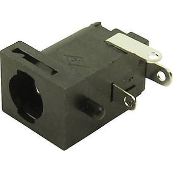 Cliff FC681477 lage voedingsconnector Socket, horizontale mount 5.85 mm 2,5 mm 1 PC('s)