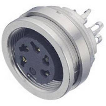 Bağlayıcı 09-0112-00-04-1 Mikro Dairesel Konnektör Serisi Nominal akım (detaylar): 6 A