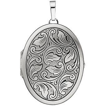 925 /-s medaljong medaljong sølv oval medaljong av kostymer kostyme smykker sølv