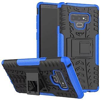 Samsung Galaxy trykk 9 N960 N960F hybrid tilfelle 2 stykke Koczian utendørs Blau bag coveret beskyttelse