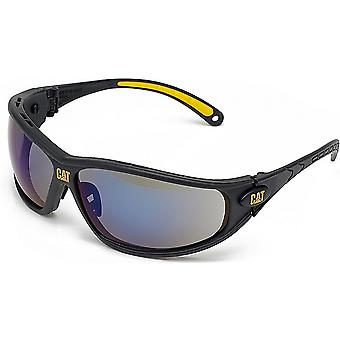 Caterpillar Mens Dozer Protective Workwear Safety Glasses Grey